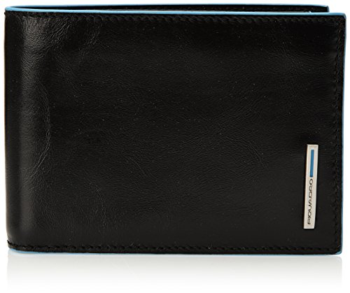 Piquadro Man's Wallet In Leather, Black 257B2, One Size by Piquadro