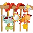Edtoy Baby Activity Spiral Toy, Stroller Toy, Bed Hanging Toys, Car Seat Toy
