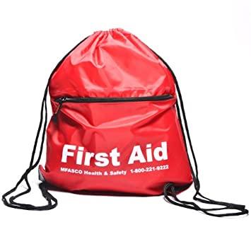 Amazon.com: Empty First Aid Sling Bag Red: Health & Personal Care