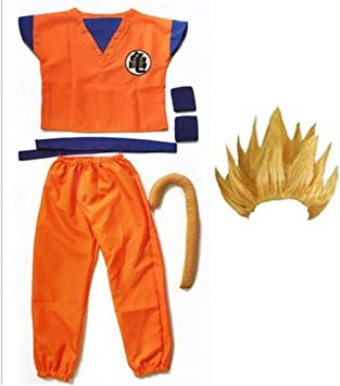 hengGuKeJiYo Dragon Ball Z Traje Son Goku Disfraces de Cosplay Top ...