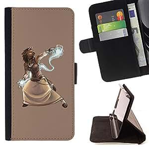 - Mythical Spirit Wizard Animal - - Prima caja de la PU billetera de cuero con ranuras para tarjetas, efectivo desmontable correa para l Funny HouseFOR Samsung Galaxy S3 III I9300