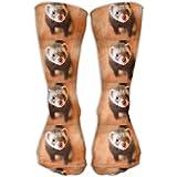 Lovely Ferret Unisex Crew Socks Casual Crew Socks Ankle Socks Cozy Socks One Size