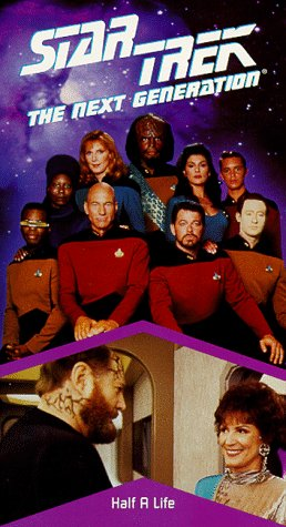 Star Trek - The Next Generation, Episode 96: Half A Life [VHS] by Paramount Home Video