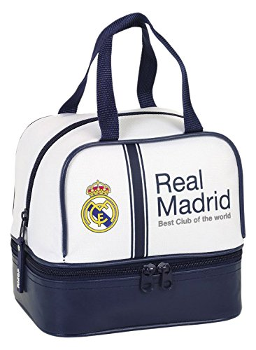 Real Benzema Madrid (Real Madrid FC 811654040 Official 2016/17 Mini Lunch Bag)