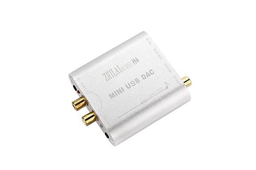 Shina H4 Hifi Mini Comp uter tarjeta de sonido PC Digital PCM2704 ...