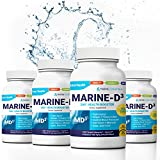 Product review for Marine-D3 340mg Anti-Aging Dietary Supplement with Vitamin D3, Omega 3 Fish Oil and DHA by Marine Essentials (240 Soft Gel Caps)