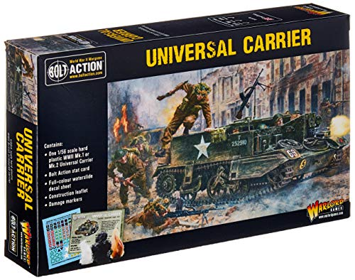 l Carrier 1:56 WWII Military Wargaming Plastic Model Kit ()