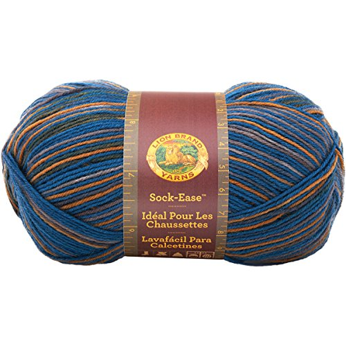 (Lion Brand Yarn 240-202R Sock-Ease Yarn,)