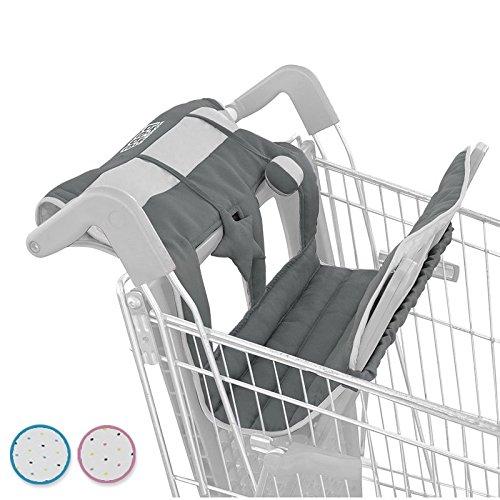 Monsieur Bébé ® Protège chariot pour enfant + Jouets - 3 coloris - Norme CE product image
