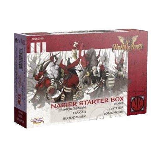 祝開店!大放出セール開催中 Wrath Kings: of Kings: Nasier Starter Nasier Box B01M5BDZAR [並行輸入品] B01M5BDZAR, 車屋本店:5126bc1f --- arianechie.dominiotemporario.com