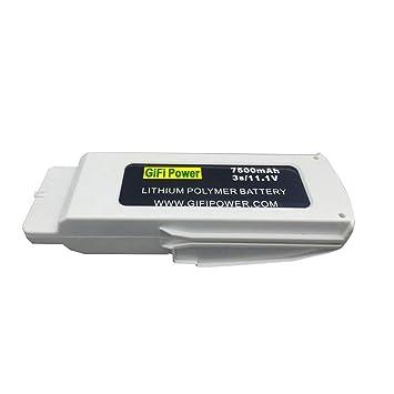 TwoCC Batería mejorada de 11.1V 7500Mah Lipo para la pieza de ...
