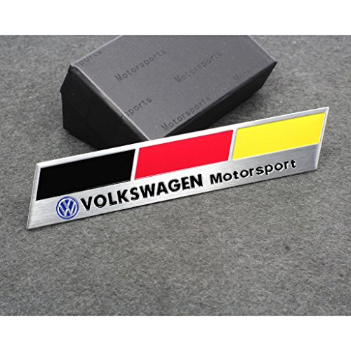 Volkswagen Golf Emblem - Car Styling Accessories C170 Emblem Badge Decal Sticker Racing Motorsport Germany Deutschland Volkswagen VW B5 B6 MK4 MK5 MK6 Golf Polo PASSAT SAGITAR Jetta CC