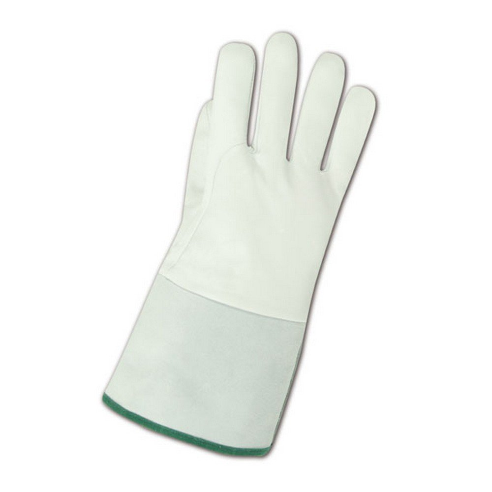 Magid Glove & Safety 5307-L Magid WeldPro 5307 Deluxe Goatskin Gloves, Gray , Large (Pack of 12)