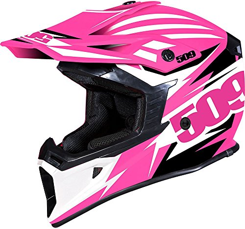 509 Tactical Snow Snowmobile Helmet - Pink - Pink Black & White - 509-HEL-TPI-_ -