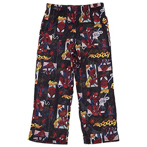 DC Comics Little Boys' Navy Blue Spiderman Pajama Pants S/4-5