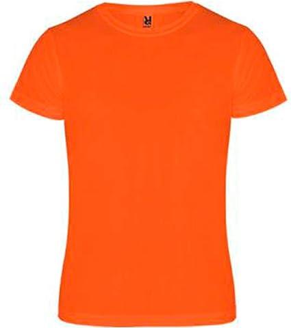ROLY Camimera, Camiseta, Naranja flúor: Amazon.es: Deportes y aire libre