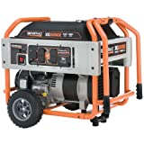 Generac 5846, 8000 Running Watts/10000 Starting Watts, Gas Powered Portable Generator, CARB Compliant