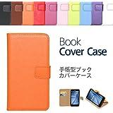 """【ケートラ】 ASUS ZenFone MAX ZC550KL ケース 手帳型 ブックカバーケース""""Book Cover Case"""" 手帳型ケース カバー 手帳型 (ZenFone Max ZC550KL, オレンジ)"""