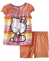 Hello Kitty Little Girls'  Polka Dot Short Set