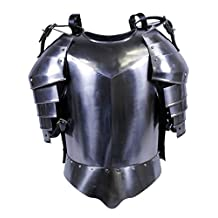 Medieval Times Shoulder Guard Steel Brest plate One Size Fits Most, Brestplate armor, Brest Armor, Suit Of Armor, Medieval Armour, Knight Armor
