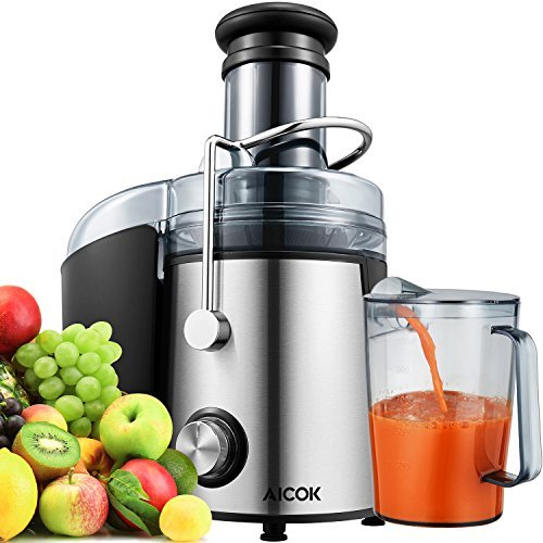 Electric Latch Device - Aicok Juicer Wide Mouth Juice Extractor 1000 Watt Centrifugal Juicer Machine Powerful Whole Fruit and Vegetable Juicer with Juice Jug and Cleaning Brush, 2018 upgrade