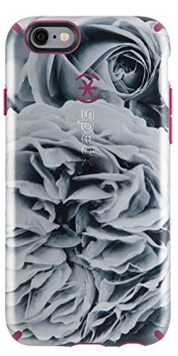 Cabernet Case - Speck Products CandyShell Inked Luxury Edition Case for iPhone 6/6S - Retail Packaging-  Shimmering Rose/Cabernet Red