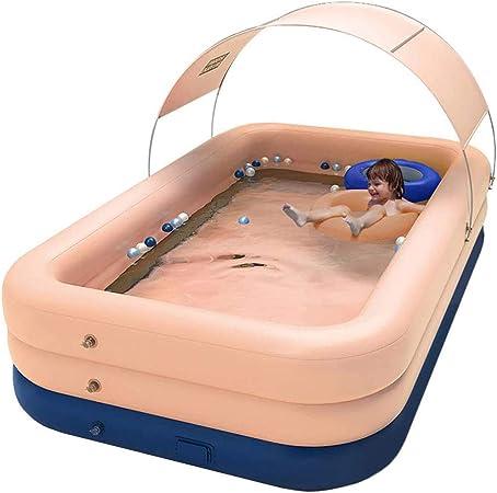 Piscina De Agua De Verano, Piscina Hinchable Familiar Swim Center, Piscina De Bolas Marinas, para Bebé, Gruesa Y Duradera, para Bebés Y Niños,Rosado,260 * 160 * 68: Amazon.es: Hogar