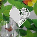 pcs tarjetas de lugar nombres papel decoracin boda fiesta bar blanco