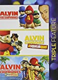 Alvin Chipmunks Triple Feature (Alvin and the Chipmunks/Alvin and the chipmunks: The squeakquel/Alvin and the chipmunks: Chipwrecked)