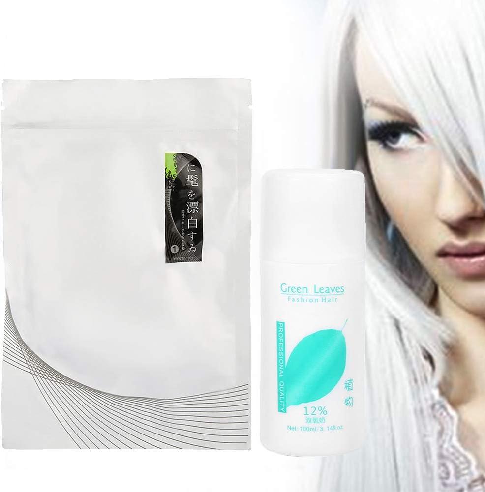 Aligerador para el cabello - Crema para aclarar el cabello Crema de loción para el cabello con crema blanqueadora Leche Diso láctea
