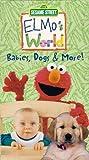 Sesame Street: Elmo's World - Babies, Dogs & More! [VHS]