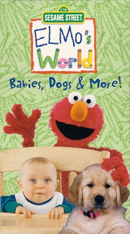 Sesame Street: Elmo's World - Babies, Dogs & More! [VHS]
