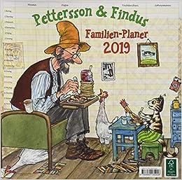 Pettersson & Findus 2019 Media Illustration por Sven Nordqvist