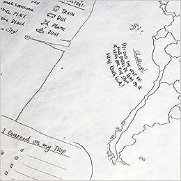 journal map keep the coolest travel journal crumpled world map