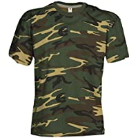Kids camuflaje Classic Army Style–Camiseta de manga corta