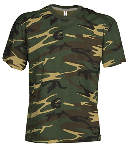 Camouflage Classic Army Style T-Shirt Kurzarm in Tarnfarbe