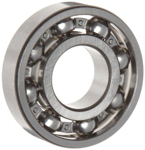 Ball Bearings Open - WJB 6309 Deep Groove Ball Bearing, Open, Metric, 45mm ID, 100mm OD, 25mm Width, 11900lbf Dynamic Load Capacity, 7200lbf Static Load Capacity