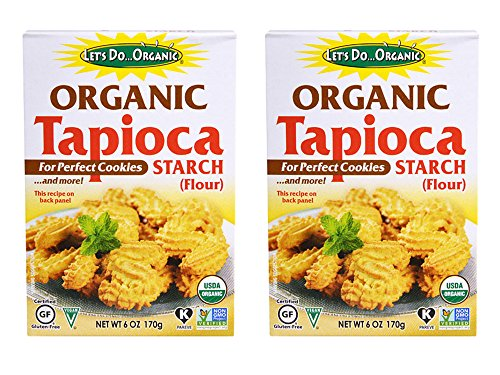 Set of 2 Let's Do Organic Tapioca Starch - 6 oz bundled by Maven Gifts