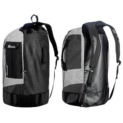 1191692cc022 Amazon.com   XS Scuba Seaside Deluxe Mesh Bag - Black   Sports ...