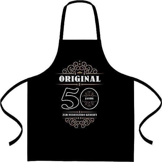 Cumpleaños 50 años - Original Regalo Delantal, delantal ...