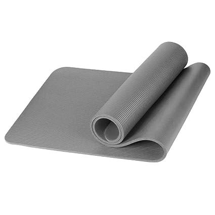 herencn Estera de Yoga Durable Portátil Sólido Antideslizante Suave Estera de Yoga de Fitness Plataformas de Equilibrio