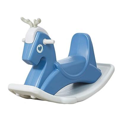 Amazoncom Rocking Horse Zjing Baby Toy Car Large Wooden Horse Baby