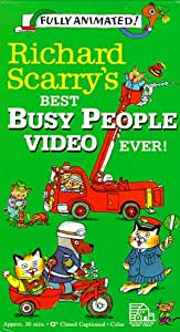 Richard Scarry's Best Busy People Video Ever!: (Kids First Award winner) [VHS]