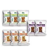 Protein Crunchy Cookies – 12 Grams of Whey Protein Snacks, Gluten Free, Non-GMO (Variety Pack, 8 Count, 1.79 oz)