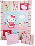 Bedtime Originals Hello Kitty and Puppy 3 Piece Bedding Set (Discontinued by Manufacturer)