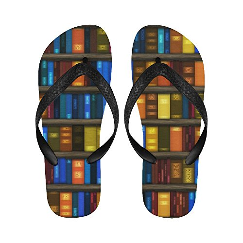 D Flip Flops Story For Book Men Women Sandals Beach Shelf rfwarq