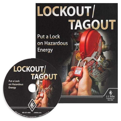 Lockout/Tagout: Put a Lock on Hazardous Energy Training DVD Video Kit in English & Spanish - J. J. Keller - Help Stop Unexpected startups with Critical info on OSHA Lockout/tagout Requirements (Best Safety Training Videos)
