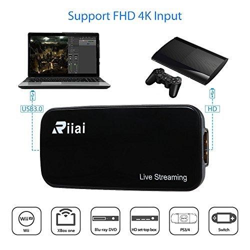 Game Capture HDMI USB 3 0 FHD Drive-free 4K 1080P 60FPS Live