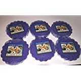 Yankee Candle Lot of 6 Blueberry Scone Tarts Wax Melts