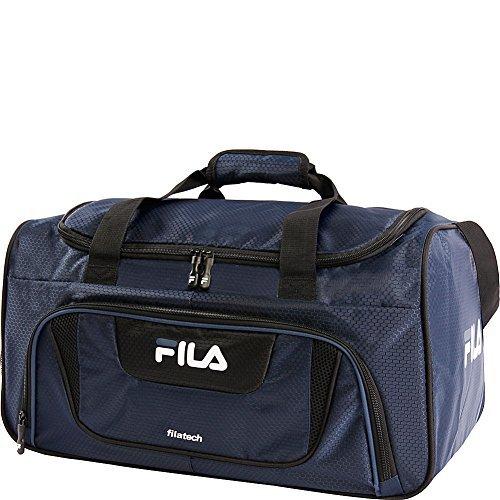 Fila Ace 2 Small Duffel Gym Sports Bag, Navy, One Size